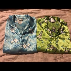 Other - Two girls pajama tops